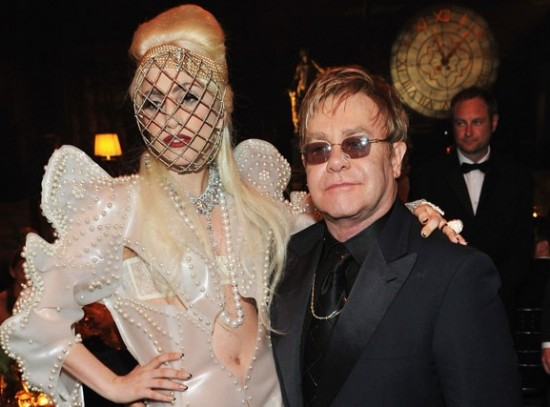 ELTON JOHN NAMES LADY GAGA GODMOTHER TO HIS SECOND SON peculiarmagazine