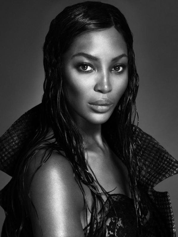 43 year-old supermodel Naomi Campbell goes nude for magazine shoot
