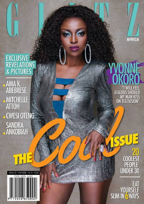 Yvonne Okoro covers Glitz Magazine's 'Cool Issue'