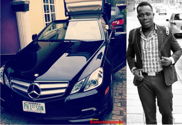 Dope: Check out Duncan Mighty's N10m Mercedes convertible