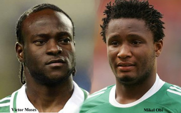 Lets Get The Party Started: Mikel, Moses land in Eagles camp