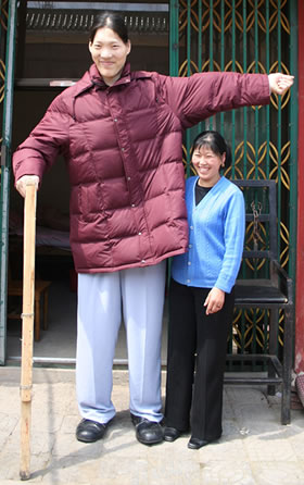 worlds tallest woman dies at the age of 40 peculiar