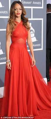 Grammy Award 2013 Red Carpet