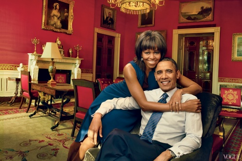Michelle Obama covers April issue of Vogue magazine  peculiarmagazine
