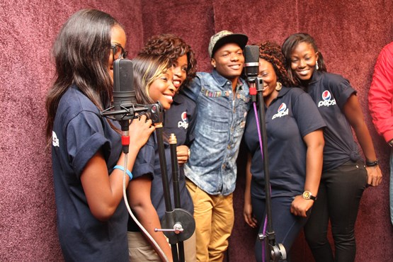Nigerian Idols day out with Wizkid refreshed by Pepsi  peculiarmagazine